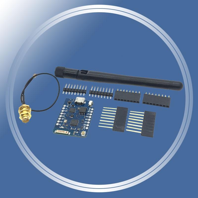 Für WEMOS D1 Mini Pro 16M Bytes Externe Antenne Stecker NodeMCU ESP8266 ESP-8266EX CP2104 WIFI Entwicklung Bord Micro USB