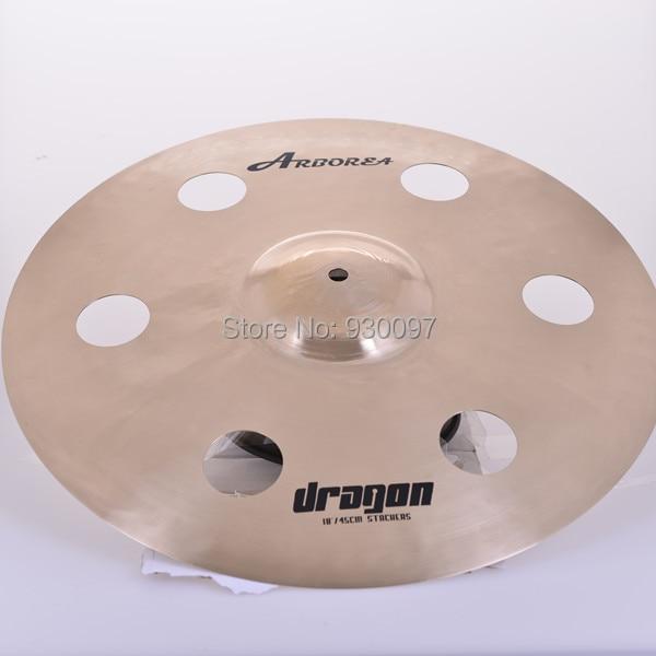 "ARBOREA professional  cymbal, DRAGON 18""  HOLE CYMBAL"