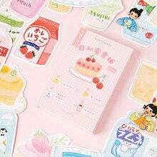 30 pièces/boîte japonais Snack shop carte postale dessin animé carte de voeux douce carte de noël anniversaire carte de message cadeau cartes de remerciement