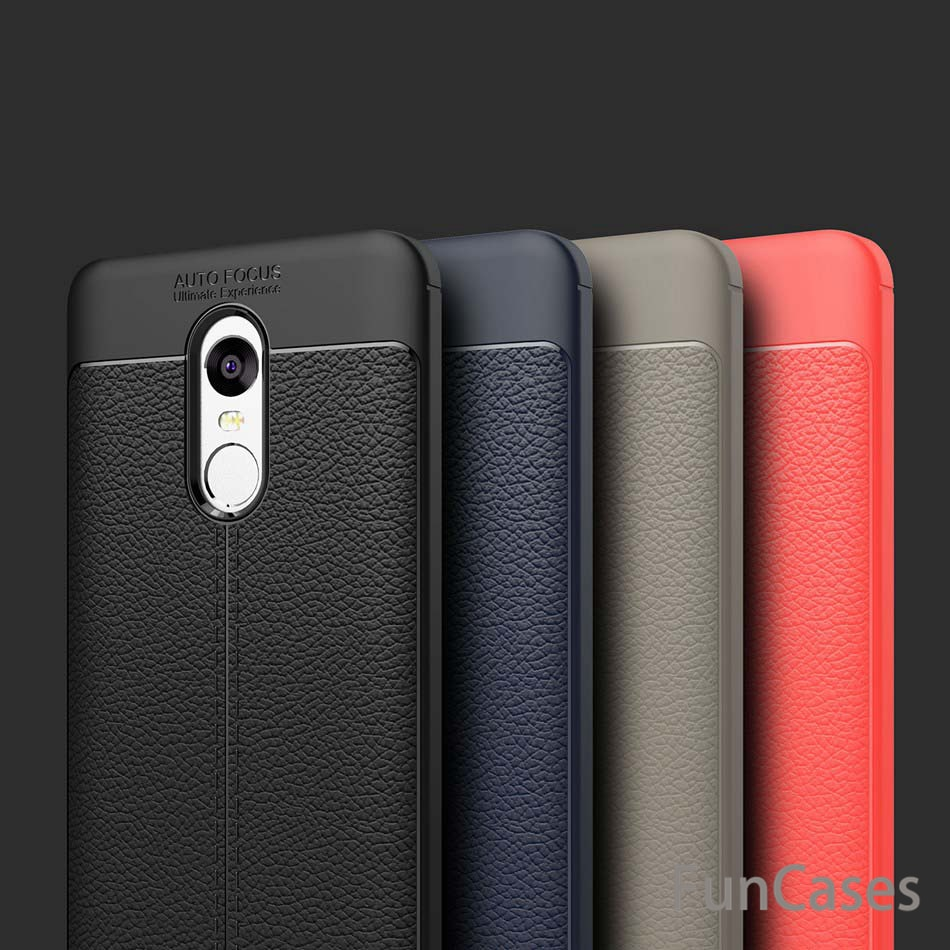 Funda protectora de teléfono TPU suave a prueba de golpes de goma de silicona para Xiaomi Redmi Note 5