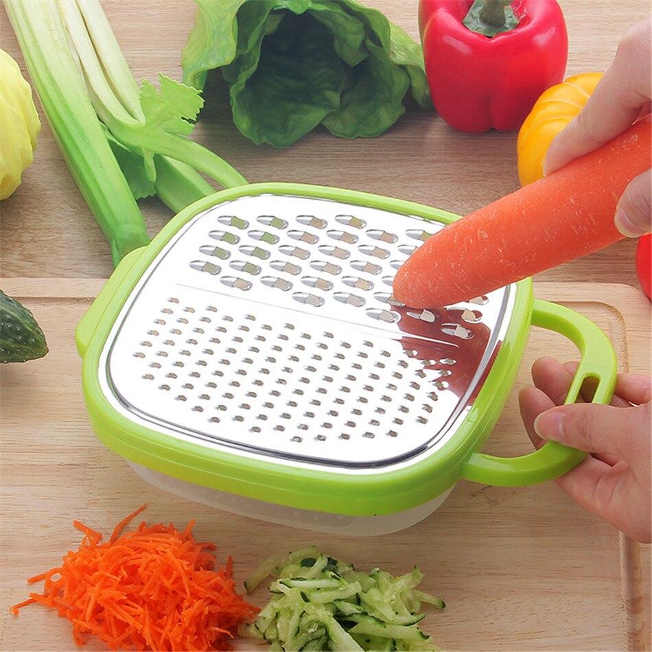 Dispositivo de gran oferta rallador práctico trituradora de vegetales rallador patata rebanador patata herramienta de cocina