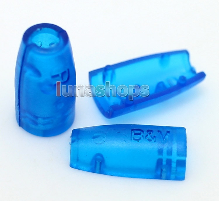LN004087 funda azul para Shure SE535 SE425 SE315 SE215 auriculares Cable de actualización macho pines
