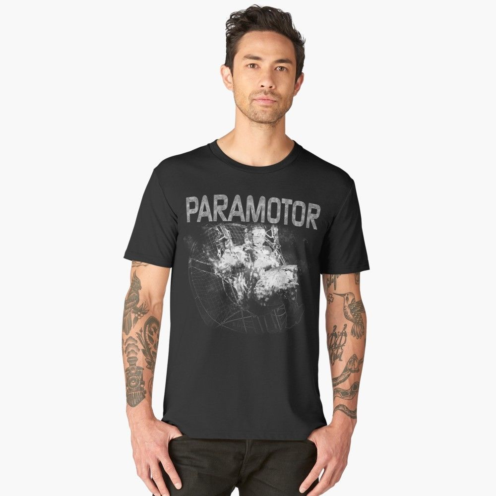 Camiseta paramotor Ppg Powered Paraglider-Unisex calidad superior 2019 nuevo verano hombres 100% algodón Cool manga corta Camisetas