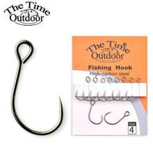 Брендовый Большой Крючок для приманки THE TIME, для мини-кренкбейта и небольших Блесен, небьющиеся рыболовные крючки