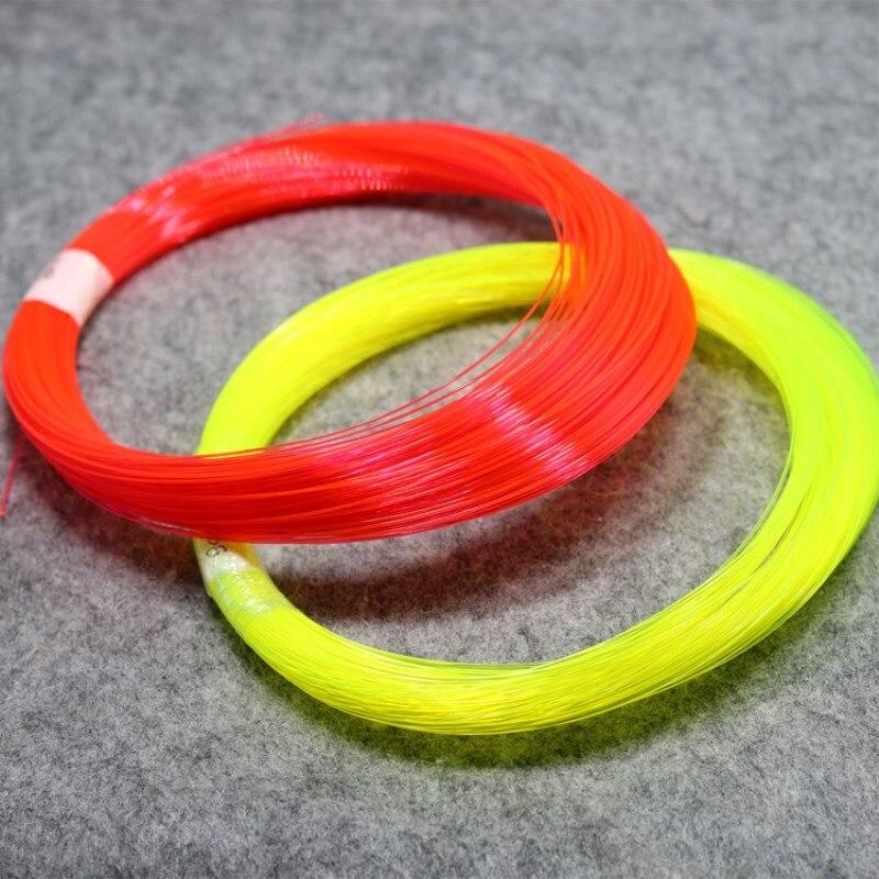 50cm 0,75mm fibra óptica Bow Sight reemplazo Pins compuesto arco arquería accesorios rojo amarillo verde Honda caza fibra