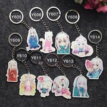 10PCS/SET Anime Keychain Eromanga Sensei Sagiri Izumi Kawai Portachiavi Keychain Keyring Pendant Nice Gift De Llaveros