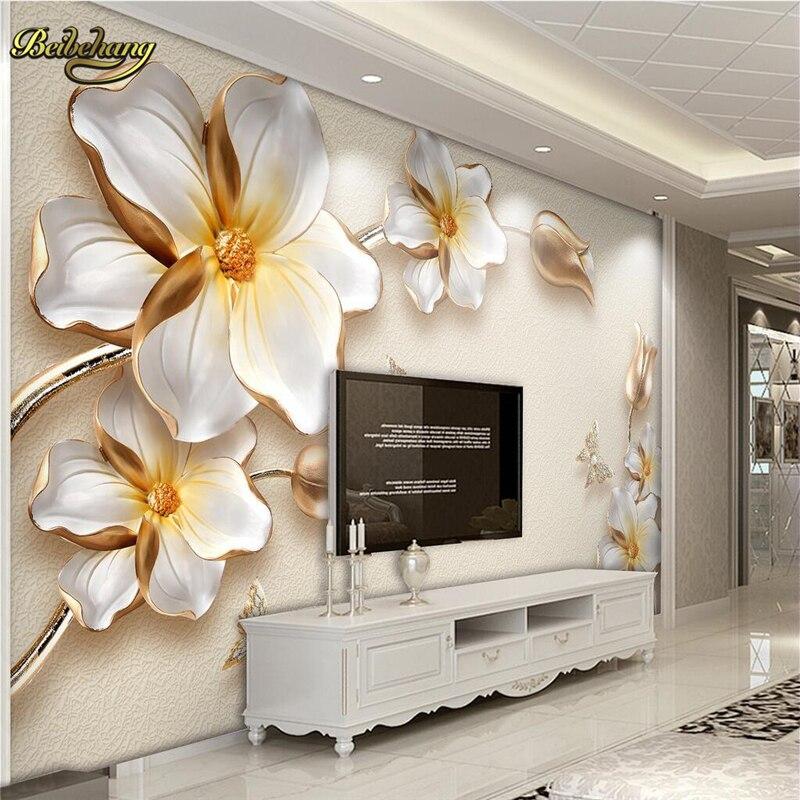 Papel De pared beibehang 3D Papel De pared personalizado para sala De estar sofá telón De fondo como De TV Mural Papel De pared Papel tapiz