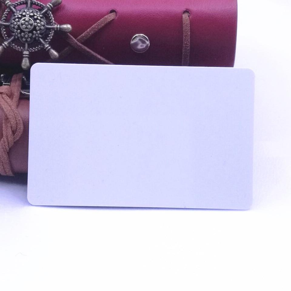 Высококачественная пустая белая пластиковая бизнес-карта в 30mil CR80 Размер для принтера ID-карты