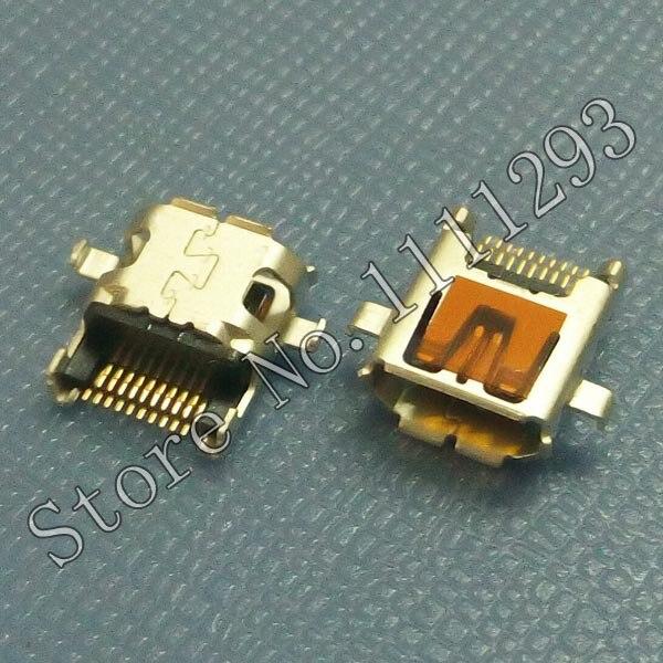 10 unids/lote Micro HDMI conector 19 p/Micro HDMI Jack para tableta teléfono móvil, etc.