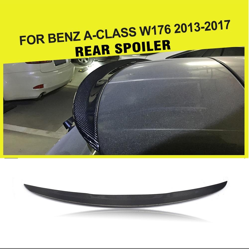 Estilo de coche/FRP fibra carbono Racing Auto maletero trasero pato alerón para Mercedes Benz Clase A W176 2013 - 2017