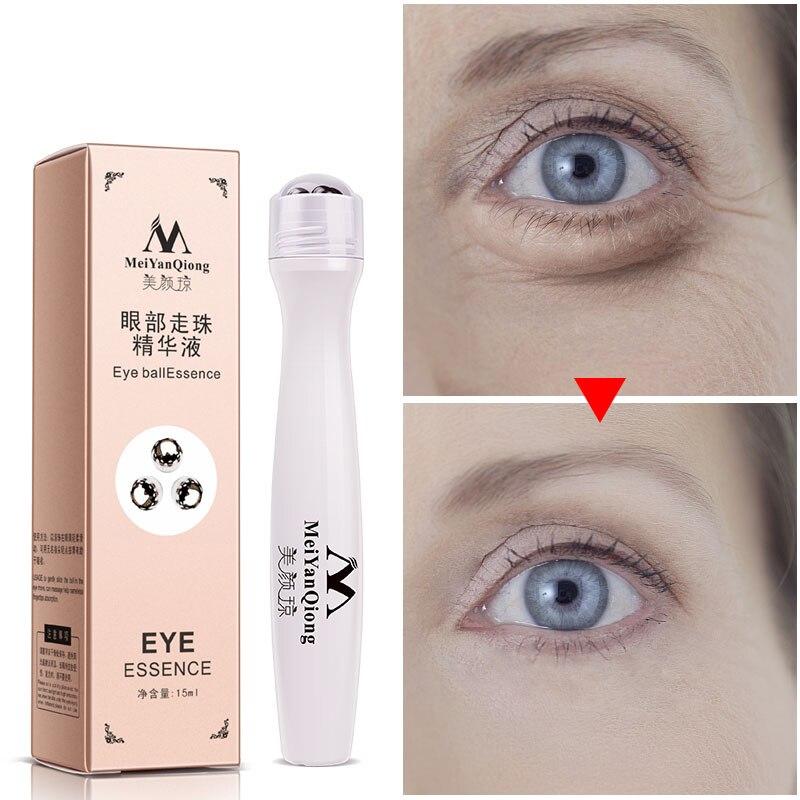 15ML Anti-Aging Eye Serum Collagen Snail Essence for Eyes Anti Puffiness Against Bags Hyaluronic Acid Moisturizing Cream
