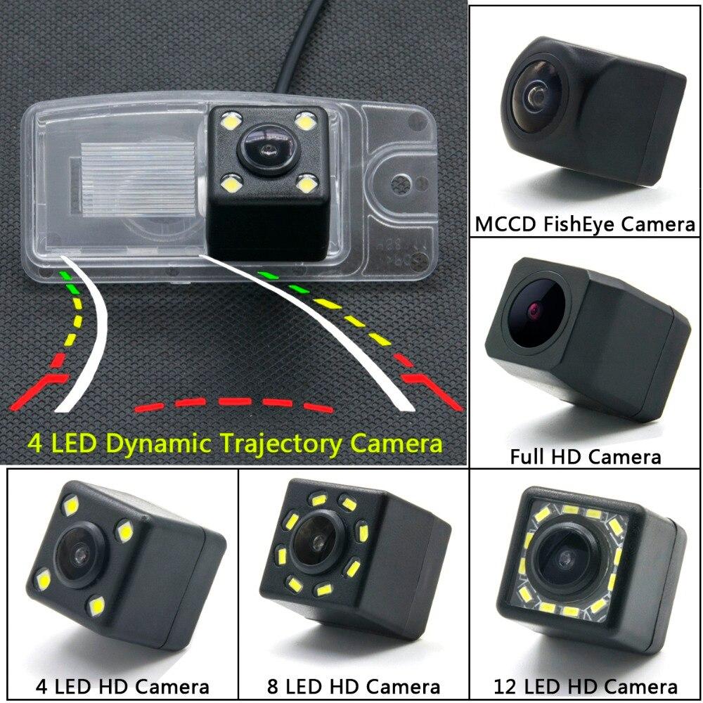 Para Nissan x-trail X Trail Altima L31 Murano Z50 MK1 Quest V42 Crossover Z52 3TH Car LED cámara de visión trasera Monitor de aparcamiento