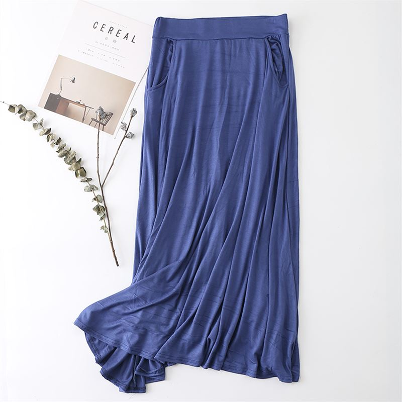 New Long Skirt Elegant Pocket Women Pastel Pleated Maxi Cotton Skirts 2018 Beach Boho Summer Skirts Faldas Saia Tulle Skirt D158 beach maxi long skirt zanzea summer zipper skirts women elegant solid skirts bohemian skirt jupe female faldas saia oversized