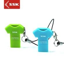 2017 Promotion offre spéciale tout en 1 / Multi en 1 Usb Cardreader Ssk T-shirt Xd lecteur de carte Tf personnalité Mini téléphone portable 052