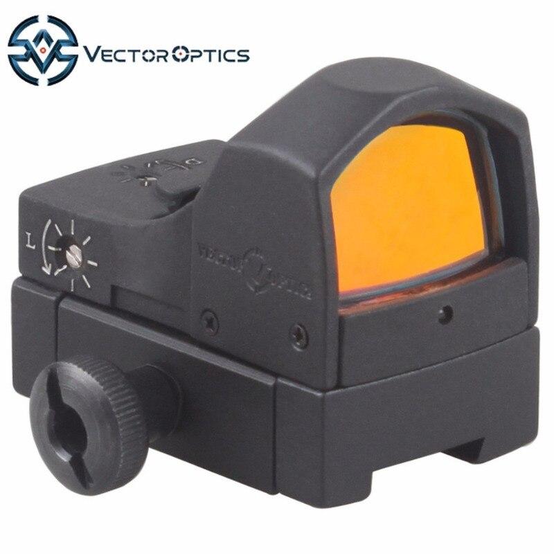 Векторная Оптика Сфинкс 1x22 ласточкин хвост мини рефлекторный красный точечный прицел с креплением 11 мм база подходит для пневматических винтовок