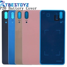 RTBESTOYZ P20 Back Battery Glass Cover For Huawei P20 Replcement Rear Housing Chassis Door Case With