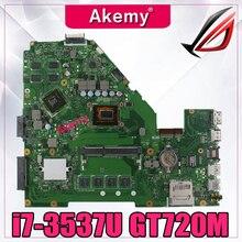 Akemy X550CC carte mère Dordinateur Portable pour ASUS X550C A550C X550VB X552C X550CL R510C Test carte mère dorigine 4G RAM i7-3537U GT720M