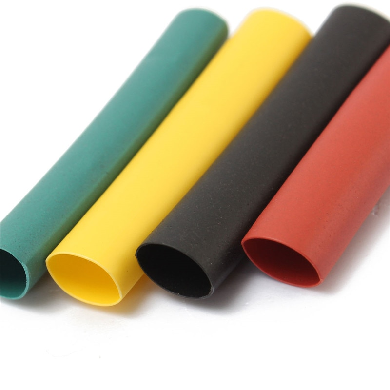 328Pcs 8 Größen Multi Farbe Polyolefin 2:1 Halogen-Freies Schrumpfschlauch Rohr Sortiment Sleeving Wrap Rohre