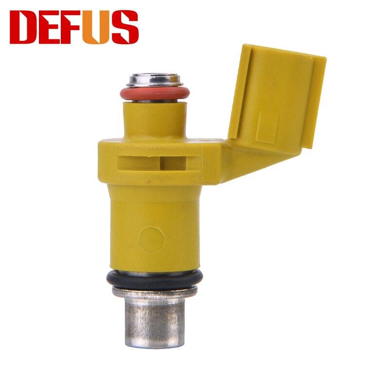 Original Motorrad Fuel Injector 100cc/min 6 Löcher Nozzel Injection Injektoren Ersatz Kraftstoffsystem Gelb