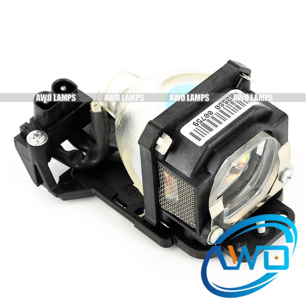 AWO reemplazo lámpara ET-LAM1 con la vivienda para PANASONIC PT-LM1/LM1E/LM1E-C/LM2/LM2E/PT-LM1U /PT-LM2U