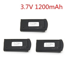 3pcs Updated 3.7V 1200mAh Li-po Rechargeable Battery for DM107S SG700 S169 RC Quadcopter Drone