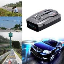 Auto Car Anti Radar Signal Detector for Vehicle V9 Speed Voice Alert Warning LED Display Detector English/Russian Version