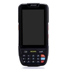 Lecteur de codes barres laser 1D RFID/NFC/WIFI/BT4.0/GPS IP65 écran tactile 4G PDA avec android 7.0 OS