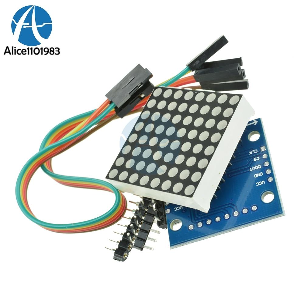 MAX7219 MAX7219EWG плата модуля точечной матри