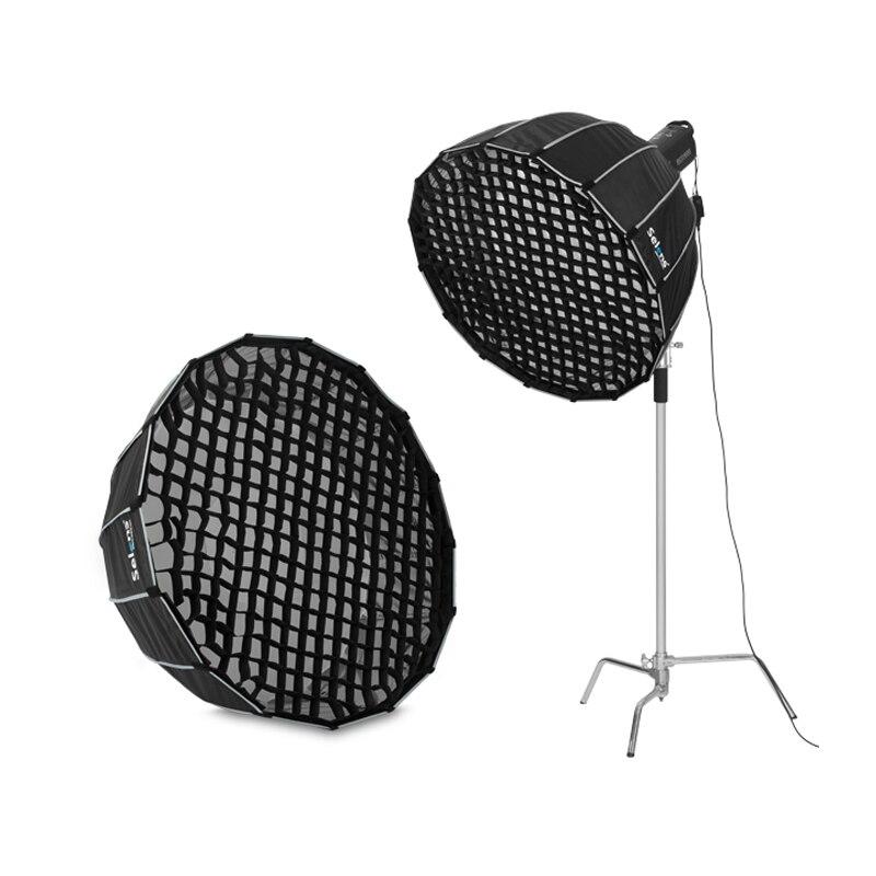 Selens 90cm 120cm 150cm 190cm fotografía de panal de red para difusor de Soft Box para Flash Canon Nikon SpeedLight Fotografia caja de luz