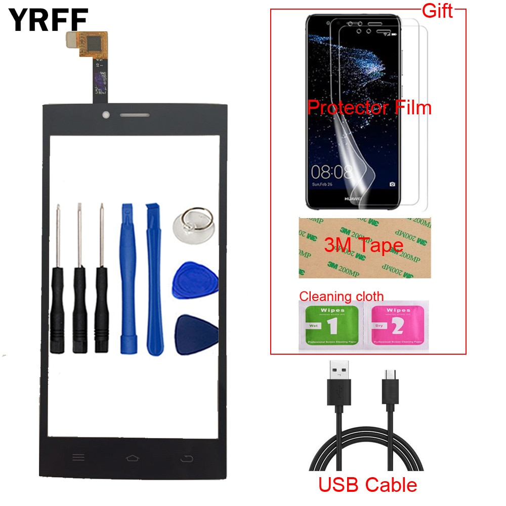 Mobile Phone Touch Screen For DEXP Ixion ES2 Front Touch Screen Glass Digitizer Panel Sensor Capacit