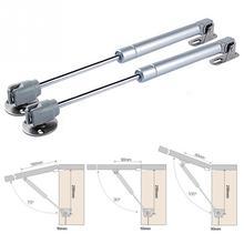 Charnières hydrauliques 40-150N/4-15KG   Support de porte pour armoire de cuisine, ressort pneumatique à gaz pour quincaillerie de meubles en bois, vente en gros
