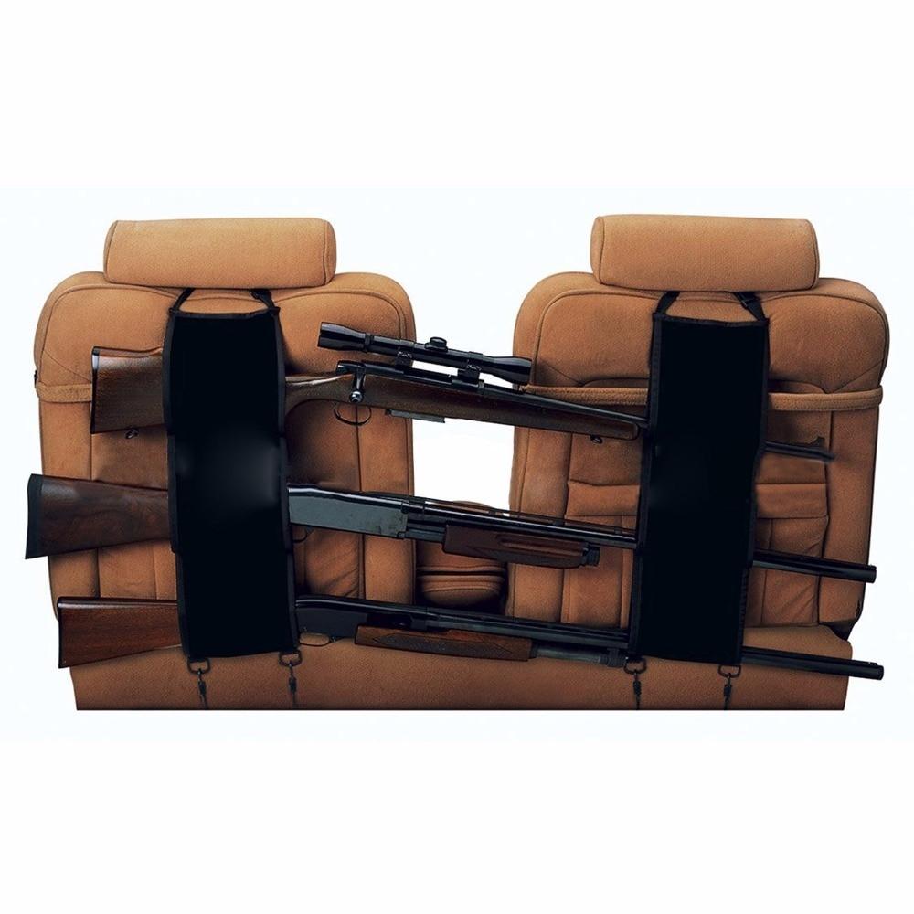 Funda con soporte de pistola para asiento delantero y trasero, funda con soporte para arma, bolsa colgante de camuflaje para coche, fundas de escopeta