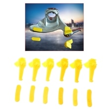 QILEJVS 12 Pcs Tyre Tire Changer Part Nylon Mount Demount Duck Head Insert Rim Protector-m28