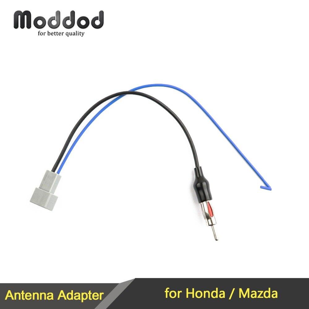 АНТЕННА антенный адаптер для Honda Accord Civic CRV Odyssey Mazda 2 3 5 6 разъем стерео установка женский провод Жгут кабель