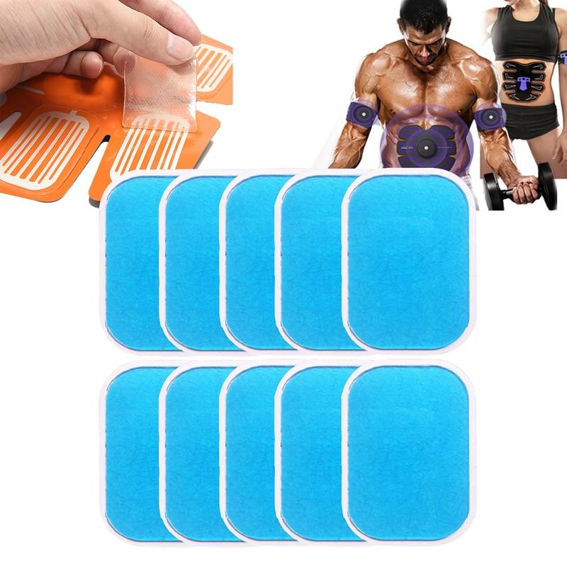 Hydrogel Gel Stickers For EMS Trainer Muscle Stimulator Gel Pads Abdominal Fitness Abdomen Slimming Massage Machine
