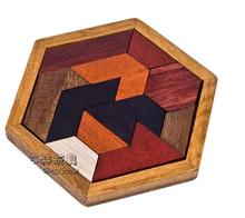 2017 Puzzle en bois chaud logique casse-tête jeu de bois jouets pour enfants adultes