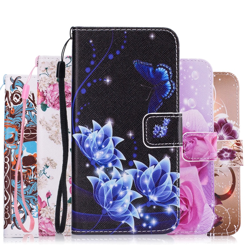 Fashion Colorful Leather Flip Cover For Samsung Galaxy S9 S8 Plus J1 J5 J3 J7 2016 2017 A3 A5 A7 201