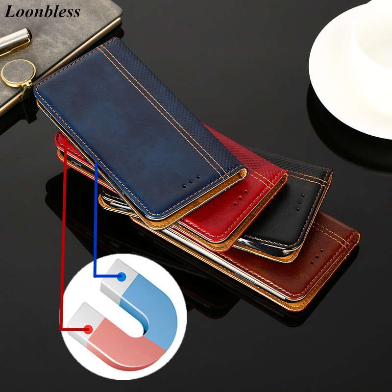 For Meizu M6T case Meizu M6T Cover Phone Leather Flip magnetic Book back skin For MEIZU meilan 6T M811H M811Q Blue Charm 6T case