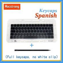 Touches espagnoles dorigine A1706/A1707/A1708 pour Macbook Pro/Air Retina 13