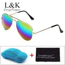 Baby Kids Sunglasses Fashion Boys Girls Piolt Style Sun Glasses Classic Children Gift With Case UV400 Mirror Eyewear