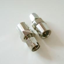 Adaptateur coaxial mâle SMA   1 pièce, connecteur adaptateur coaxial mâle RF droit