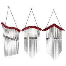Carillons éoliens en métal   Pour lextérieur, très puissants, relaxants, 15 Tubes, cloches à vent suspendues, pour la salle de lit, décoration de la maison