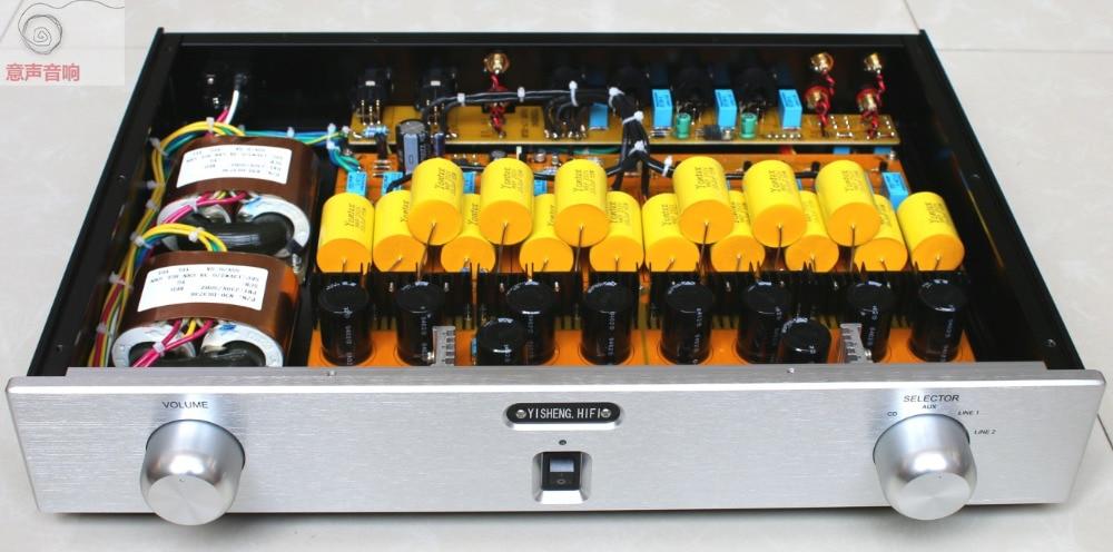 Último paso de Audio 1,7 Hifi Balance completo XLR FET Salida de entrada preamplificador Unbalance pre-amp