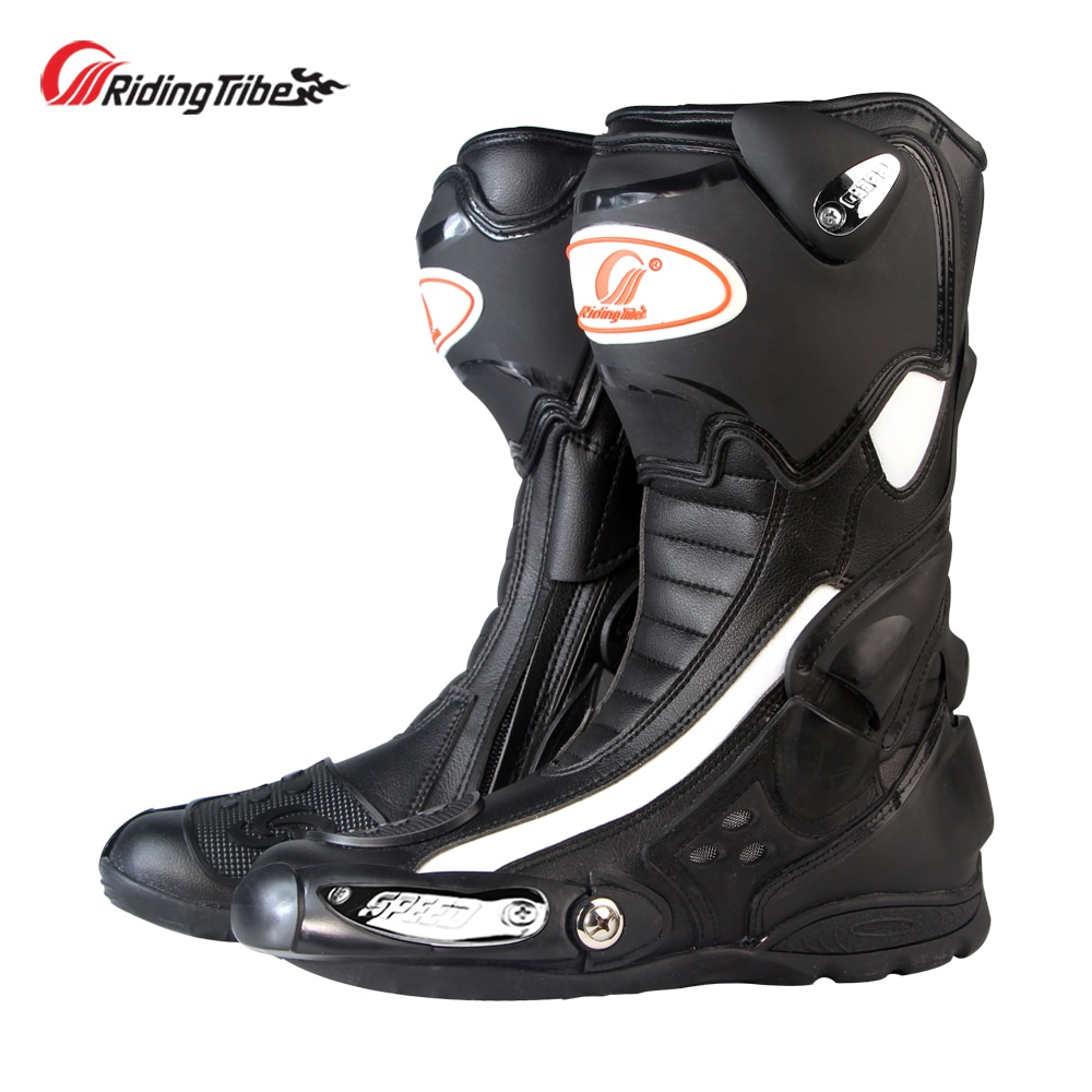 Riding Tribe-أحذية واقية للدراجات النارية ، أحذية طويلة مضادة للانزلاق للكاحل للموتوكروس ، أربعة مواسم ، B1002