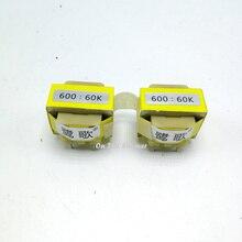 600 60 k 퍼멀로이 오디오 절연 변압기, 밸런스드 및 언밸런스 변환 오디오 아이솔레이터