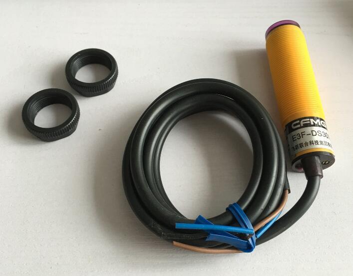 Фотоэлектрический переключатель E3F-DS30P1 6-36VDC 30 см датчик M18 PNP NO 3 провода диффузное отражение