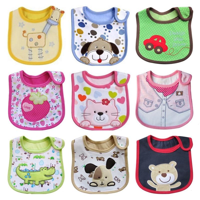 Baberos impermeables para bebés recién nacidos, Bandana, Baberos para niños, niñas, niños,...