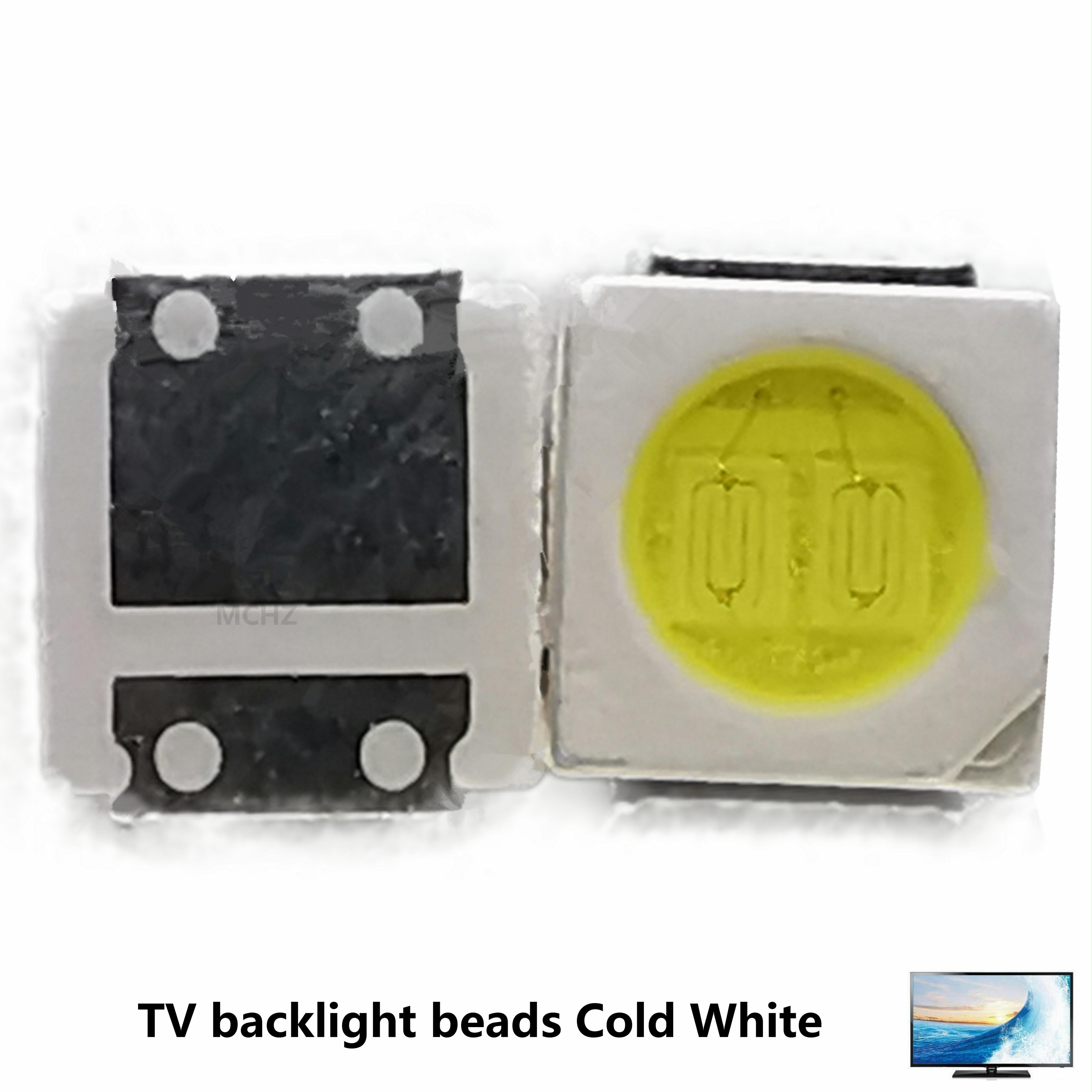 100PCS Factory Biggest Discount LED Backlight  Replace lg jufei seoul 3030 3528 2835 3-3.6V 2W 230l LM Cool white 600MA