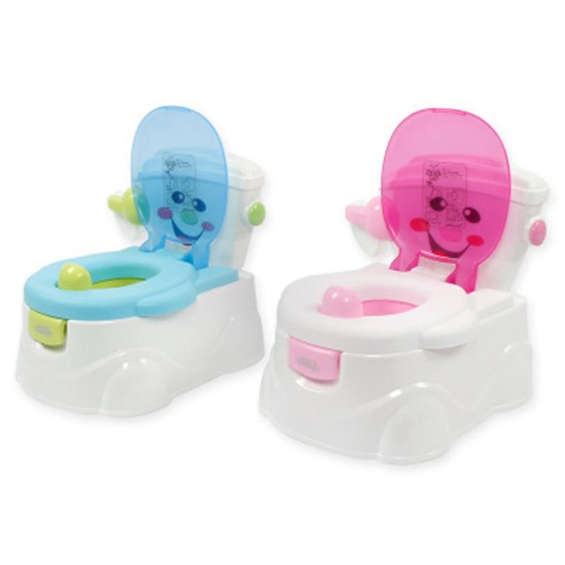 Divertido orinal multifunción para bebé, orinal portátil para niños, orinal de entrenamiento para niñas y niños, orinal, silla, inodoro, tetera para niños