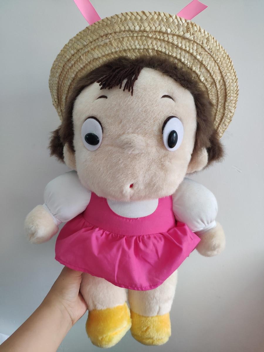 Rara 45 cm mi vecino Totoro peluche muñeca de peluche Mei-chan chica nueva